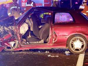 Woman killed after cars collide in horrific crash