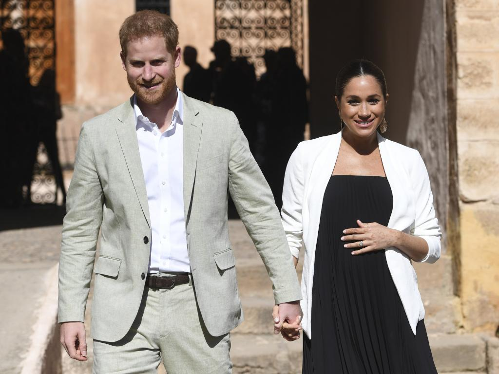 Bookies have now closed bets on Meghan's baby, prompting speculation. Picture: AP