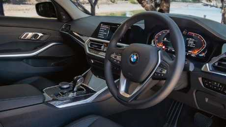 BMW's seating position is one of the best in the business.