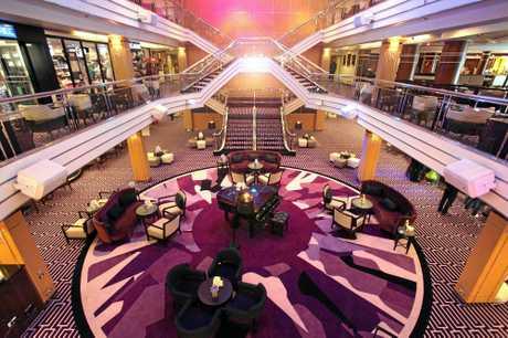 The Atrium and main reception on Cruise & Maritime Voyages' Columbus