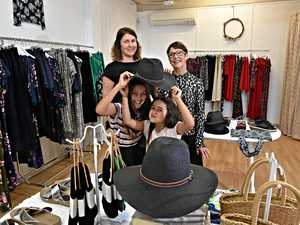 Mum returns to roots to open fashion store