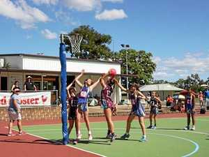 Gladstone teams display a depth of netball talent
