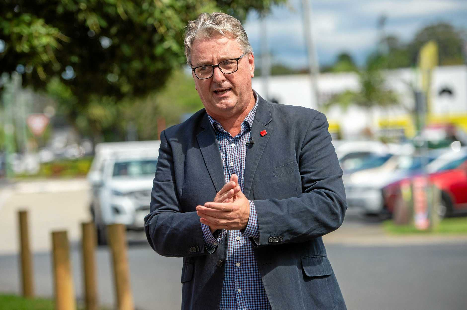 Australian Labor Party candidate for Cowper Andrew Woodward.