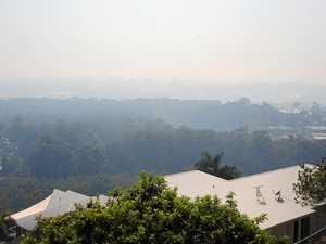 Mystery surrounds smoke haze over Sunshine Coast
