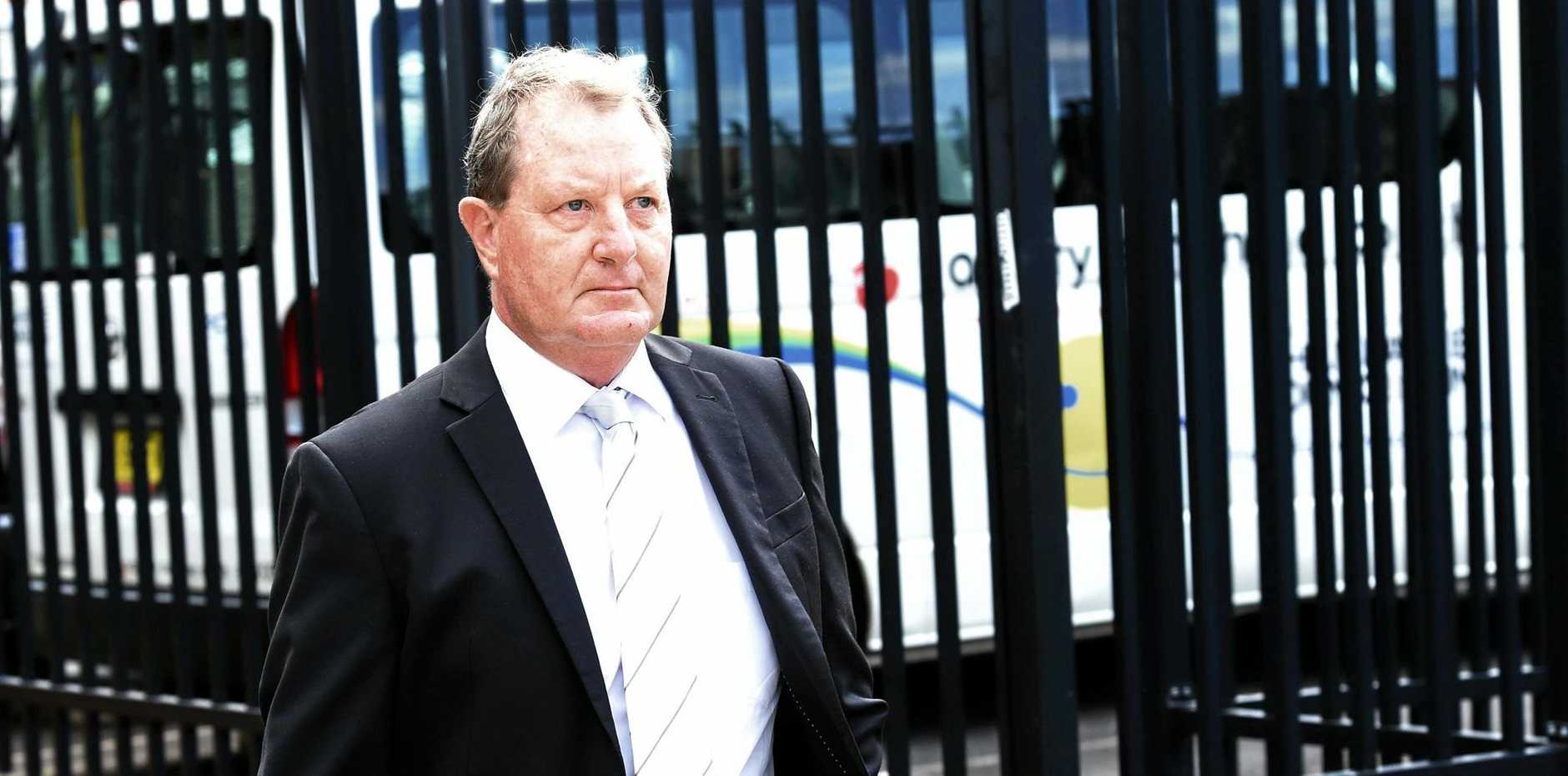 Glenn Allan Taylor leaves Lismore Local Court in 2017.