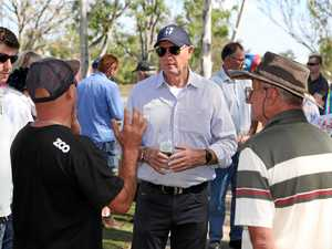 Groom candidate speaks at True Blue Crew rally in Gatton