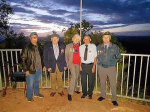 Mountain dawn service a first for Gayndah