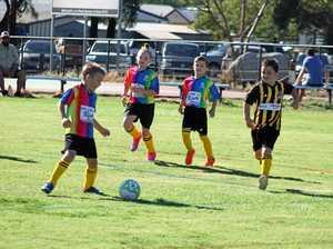 Junior soccer kicks off