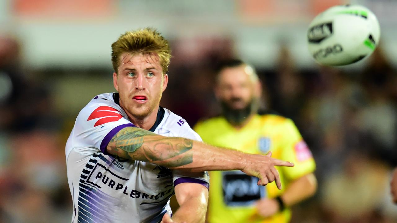 Cameron Munster is in the mix to captain the Maroons this year. Picture: Alix Sweeney