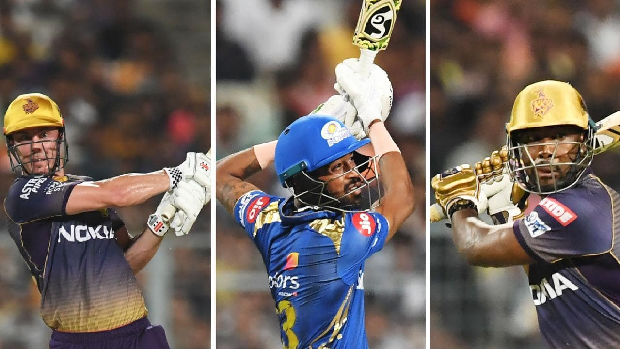 Chris Lynn, Hardik Pandya and Chris Lynn all made half-centuries as Kolkata beat Mumbai.