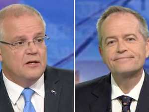 Bill Shorten lands first blow in election debate