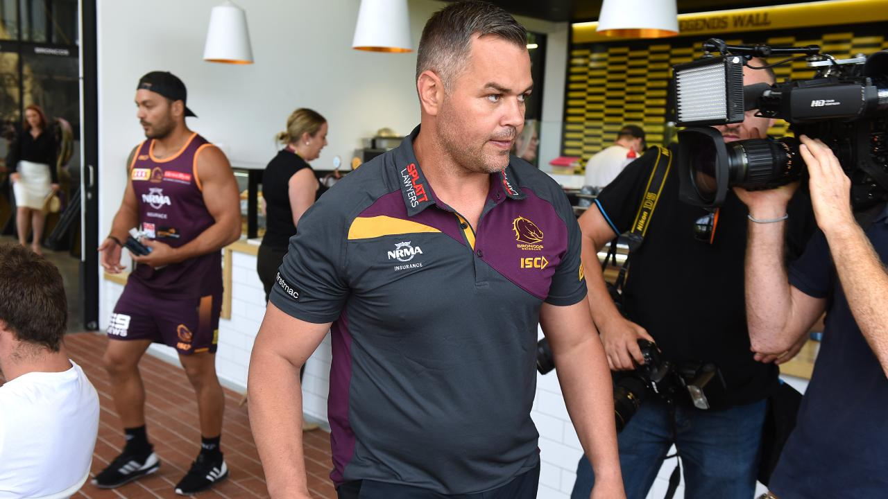 Seibold walked into a man-made storm at the Broncos. Image: AP image, John Gass
