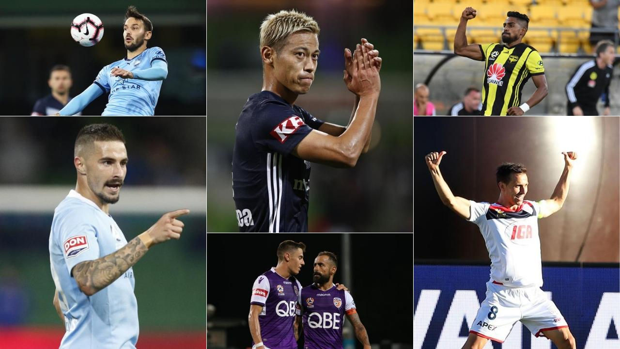 The finalists for the 2019 A-League season.