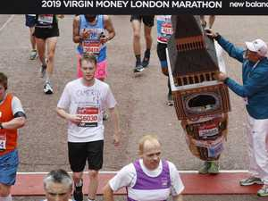 Big Ben runner's comical finish to London Marathon
