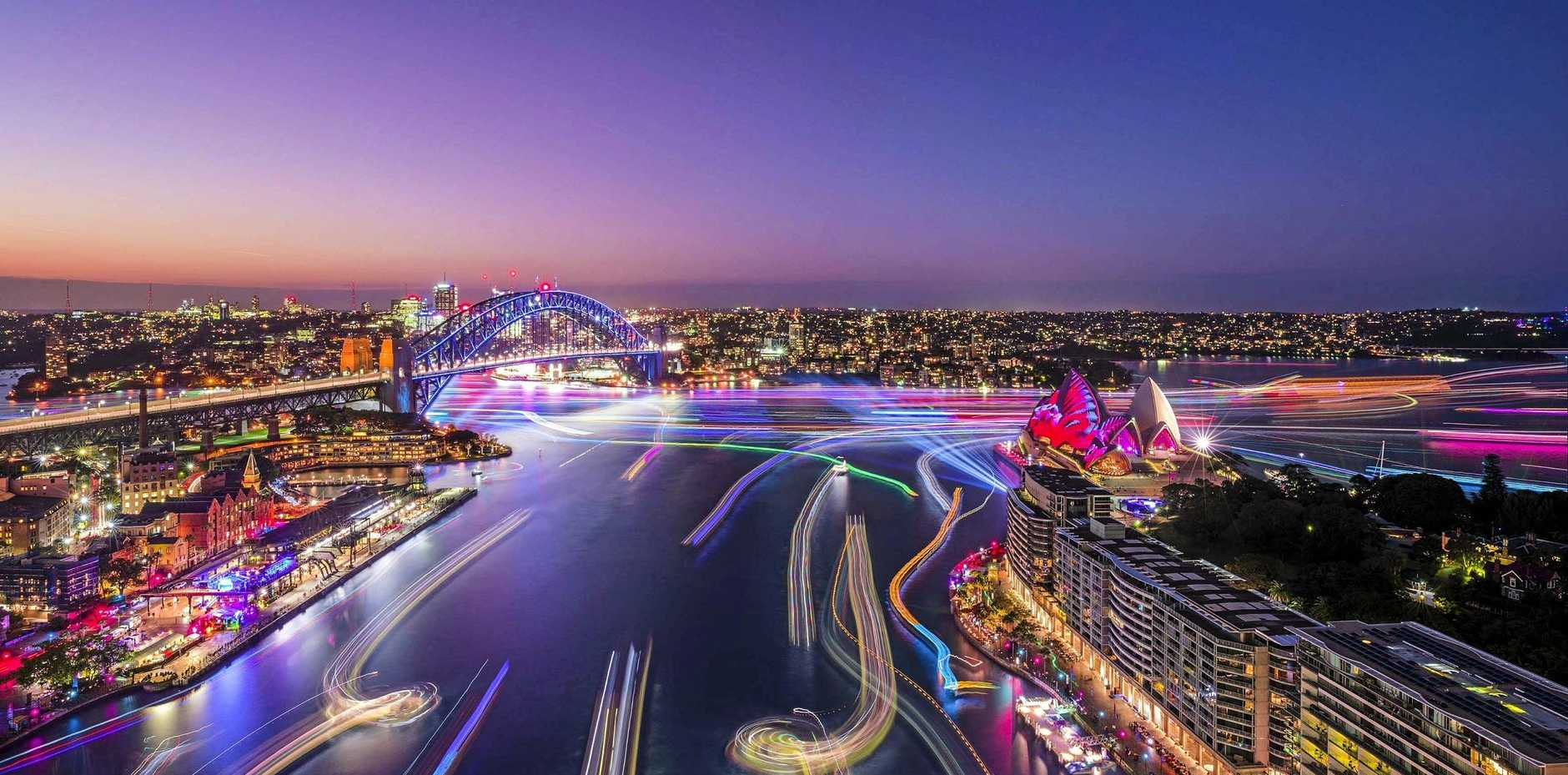 Vivid Sydney 2019 will have 23 days of spectacular light displays.