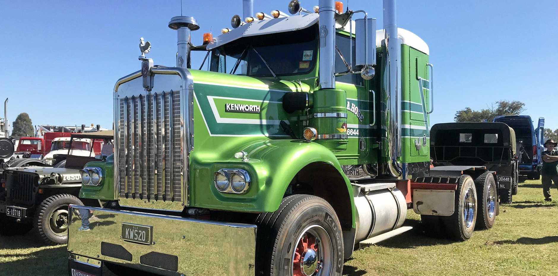Heritage Truck Association's annual truck show at Rocklea, Brisbane, Queensland.