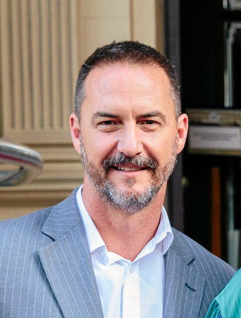 University of Queensland Lecturer in Philosophy Dr Peter Ellerton.