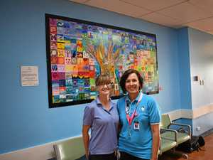 'Brightens their day': Mural to help soothe hospital stay