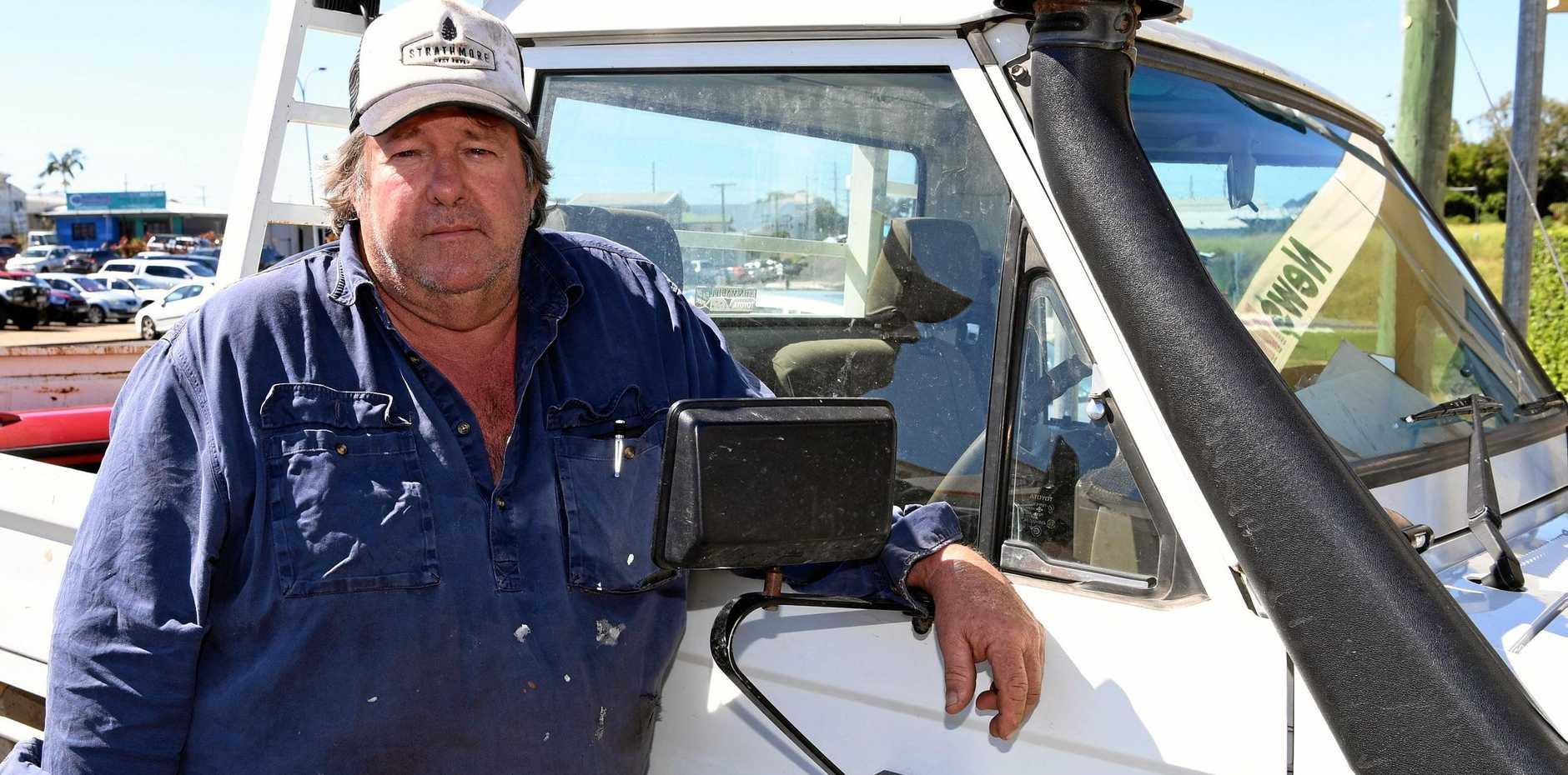 Bundaberg Canegrowers Chairman Allan Dingle.