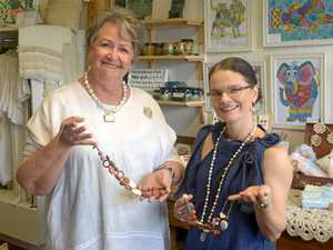 Collection of locally made handcrafted goods in new store