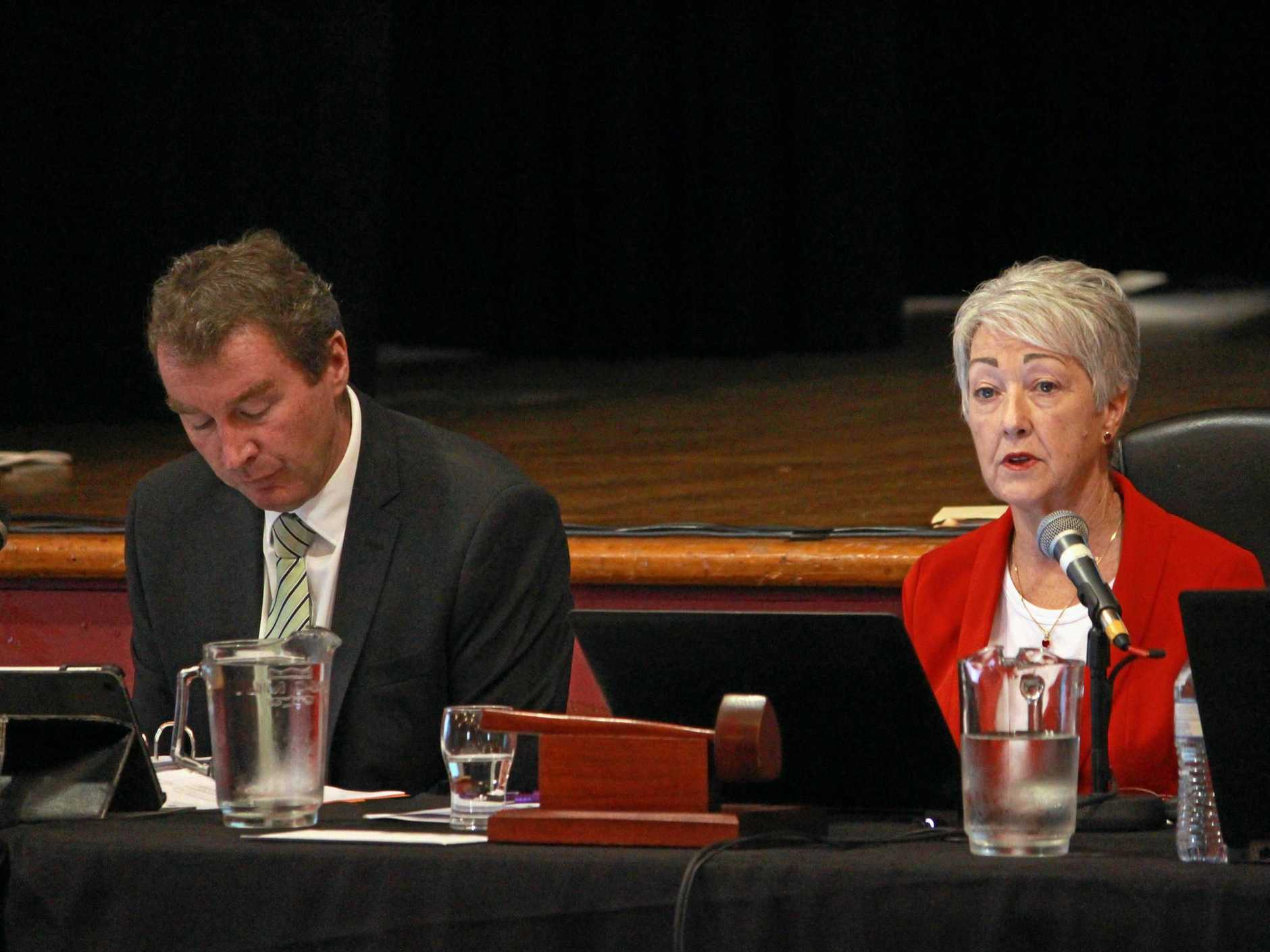 Mayor Tracy Dobie slammed the GBCA's approach in a passionate speech at the Warwick Town Hall.