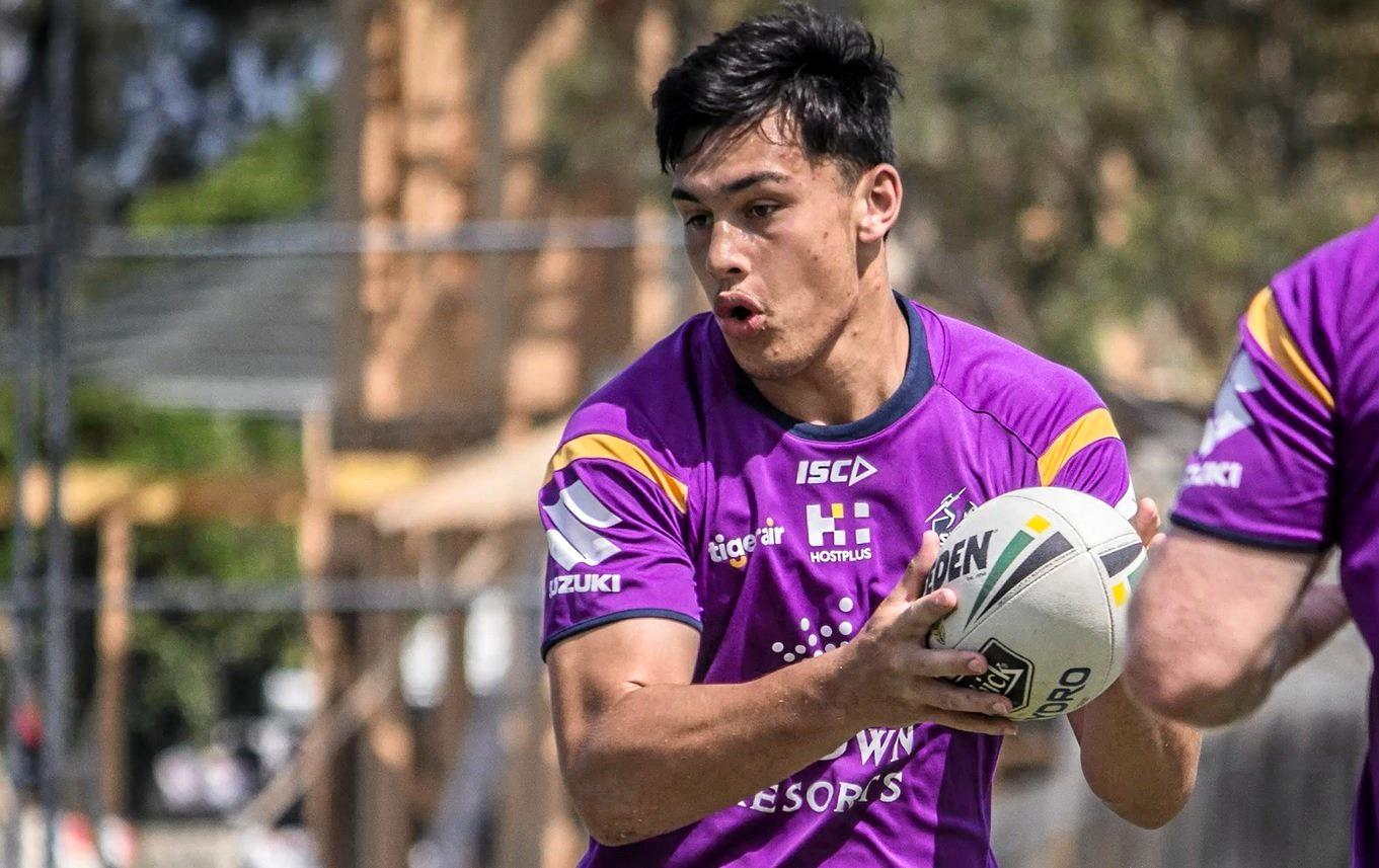 GYMPIE'S STORM: Tino Fa'asuamaleaui is causing a stir in Melbourne in his bid to break into the Storm's NRL senior team.