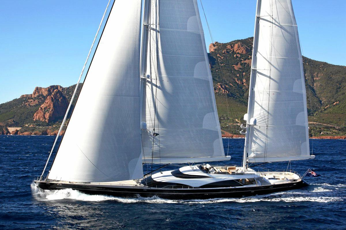 Superyacht Twizzle arrived in Abell Point Marina on April 29.