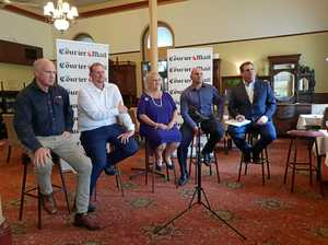 Sky debate sparks passion in Capricornia's key candidates