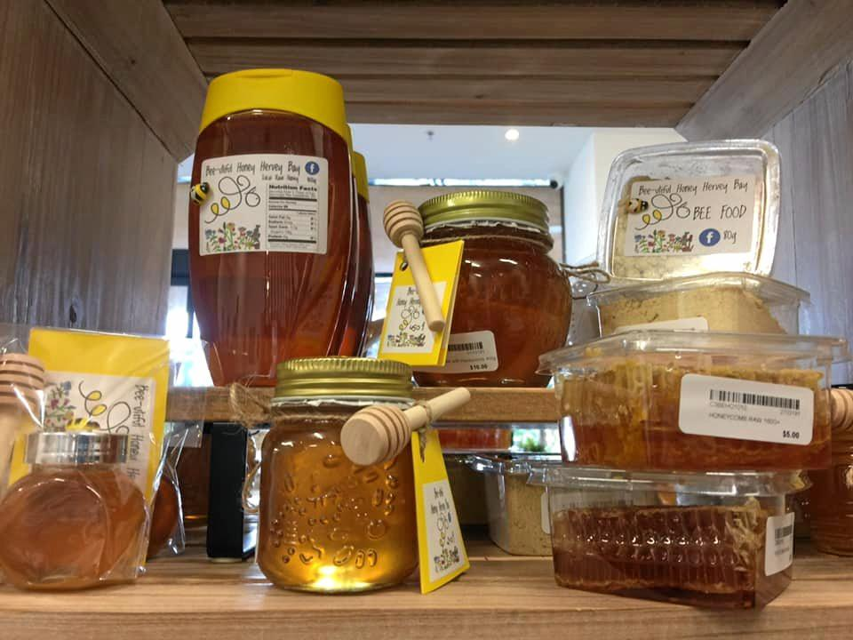 These are just some of the popular Bee-utiful Honey Hervey Bay products that will for sale at the Mother's Day Craft Fair this weekend.