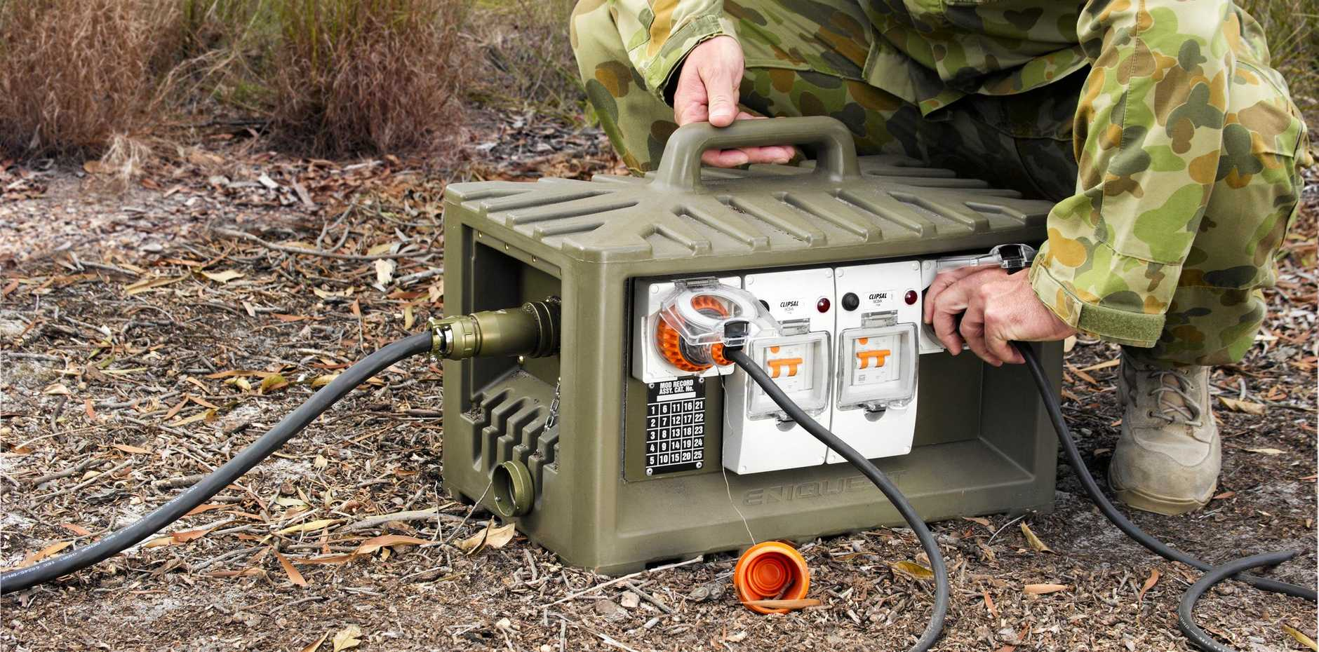 Eniquest released their 1000th Field Power Distribution box for the Australian Defence Force from their Caloundra factory.