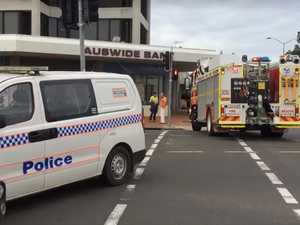 Gas leak in Bundaberg CBD