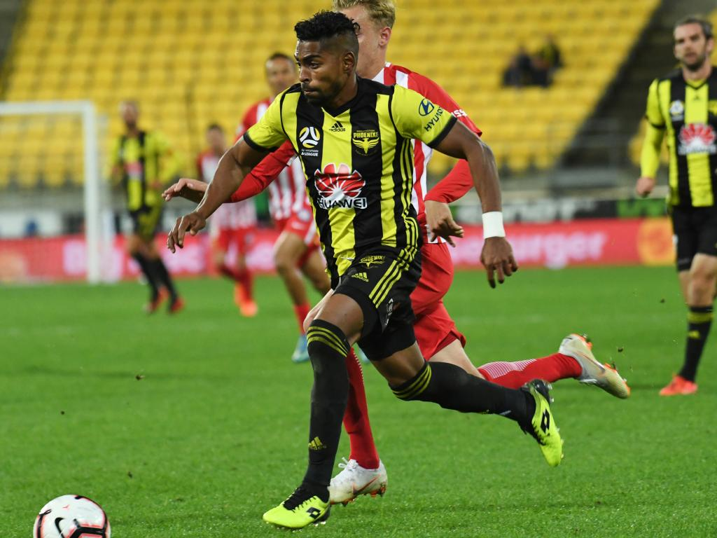 Sydney FC are reportedly keen to sign off-contract Wellington Phoenix star Roy Krishna. Picture: AAP