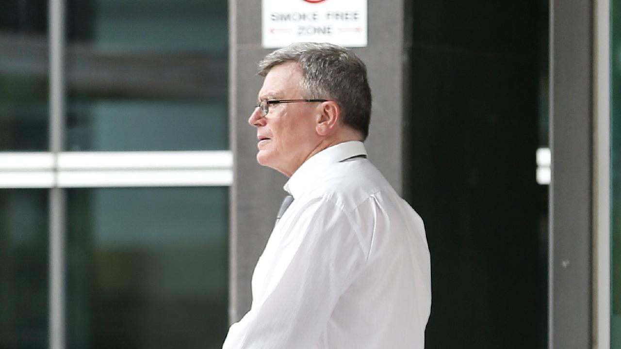 Former Customs officer John O'Sullivan pictured exiting the Brisbane Magistrates Court. Picture: AAP Image/Josh Woning