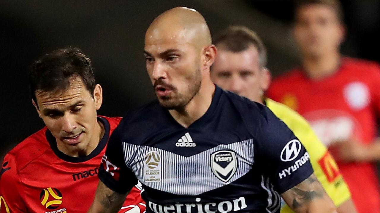 James Troisi remains in doubt for Melbourne Victory's elimination final against Wellington Phoenix. Picture: AAP