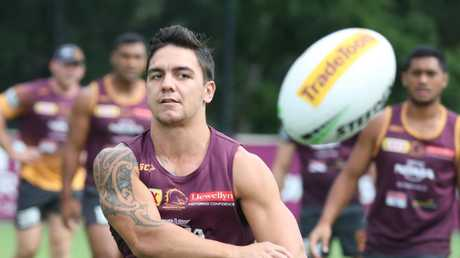 Kodi Nikorima must weigh up his future after being dumped. Picture: Annette Dew