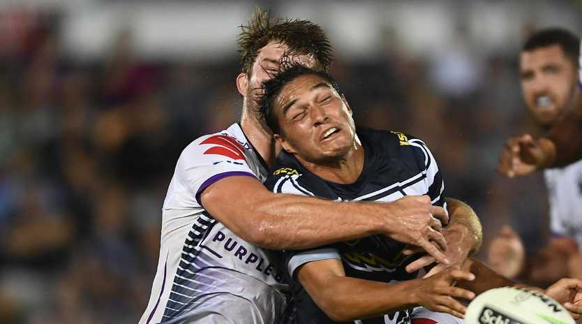 Te Maire Martin faces an uncertain future after revealing he is suffering severe headaches. Photo: Ian Hitchcock/Getty Images