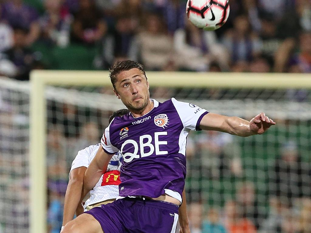 Perth Glory stopper Dino Djulbic. Picture: Getty Images