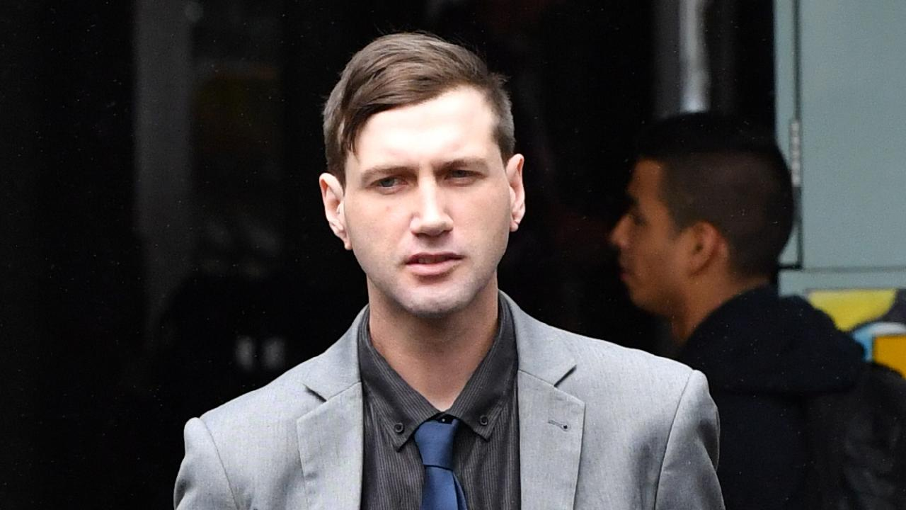 Aaron Llewellyn Jones was today found not guilty of manslaughter over the death of his housemate Joel Russell Charlesworth in 2016. Picture: AAP/Darren England