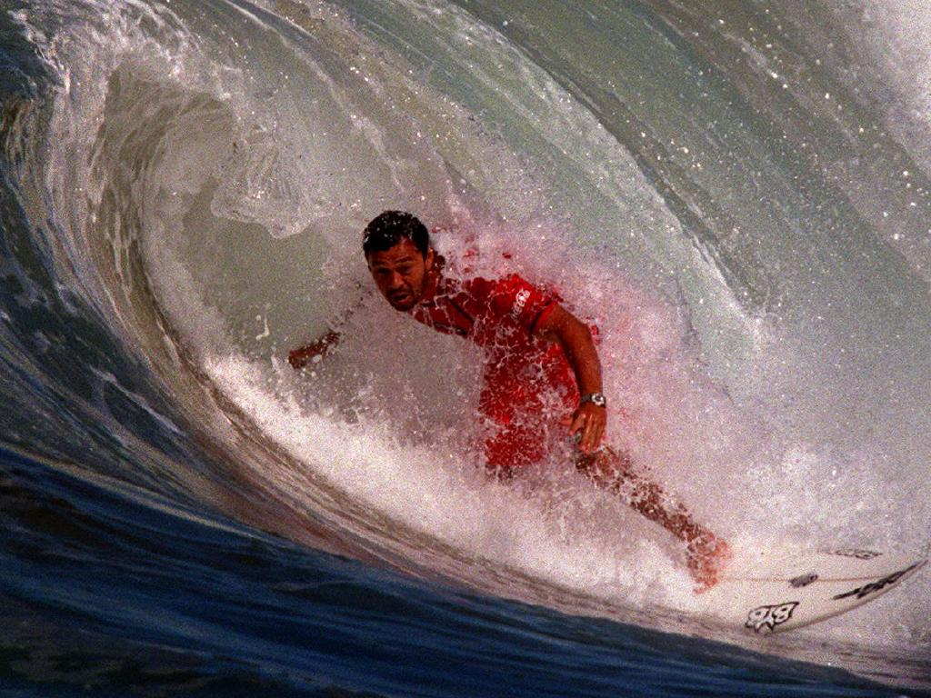 US surfer Sunny Garcia in action.   Picture: Supplied