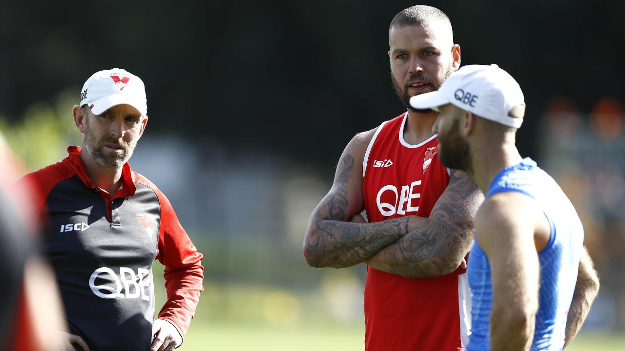 Lance Franklin will miss at least one more week. Pic: Getty Images