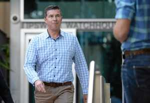 Andrew Antoniolli leaves the watchhouse on May 2, 2018.