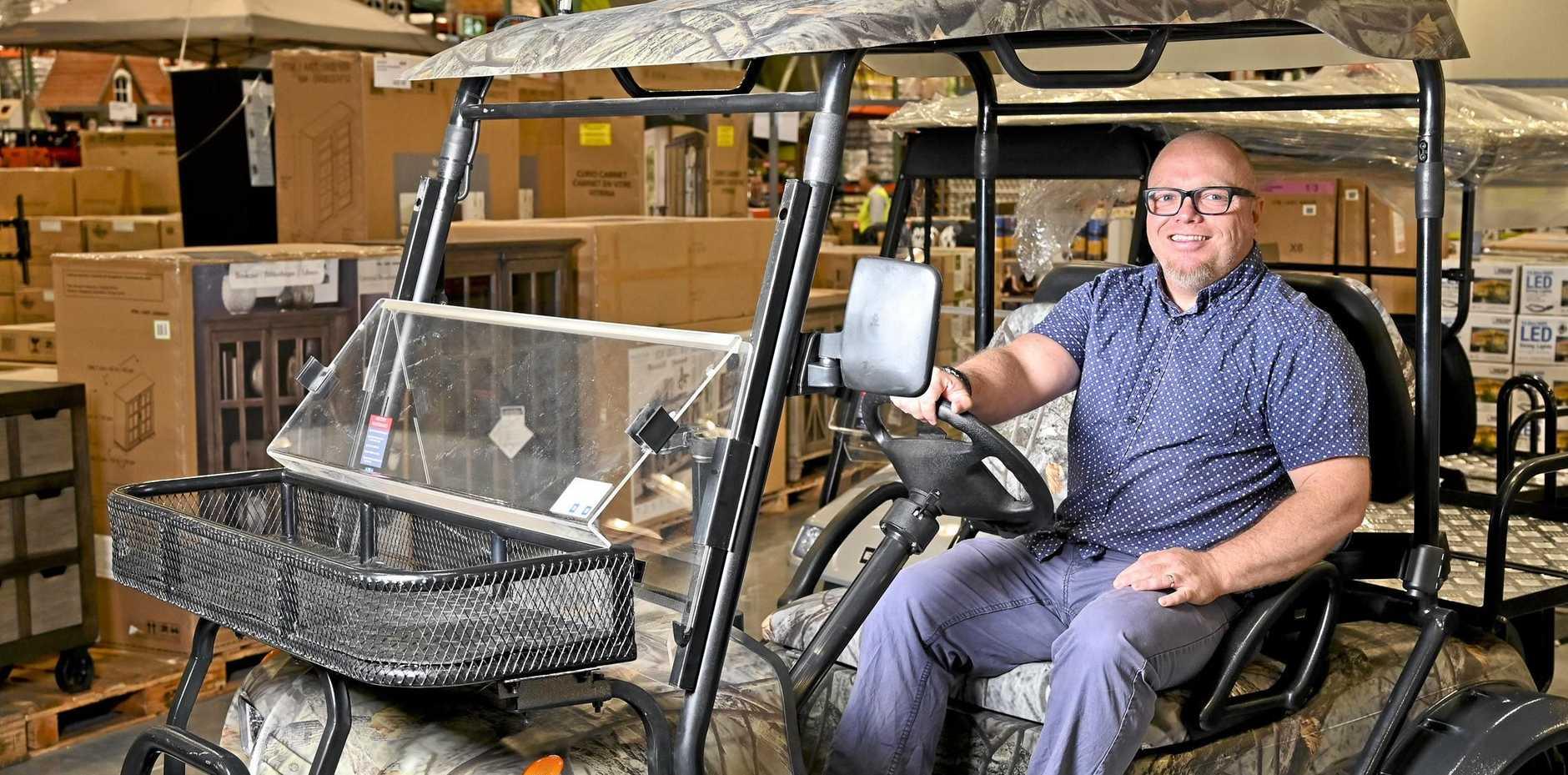 Costco Ipswich. Costco Geeks Australia creator Peter Graham.