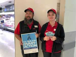 Coles working to beat ovarian cancer