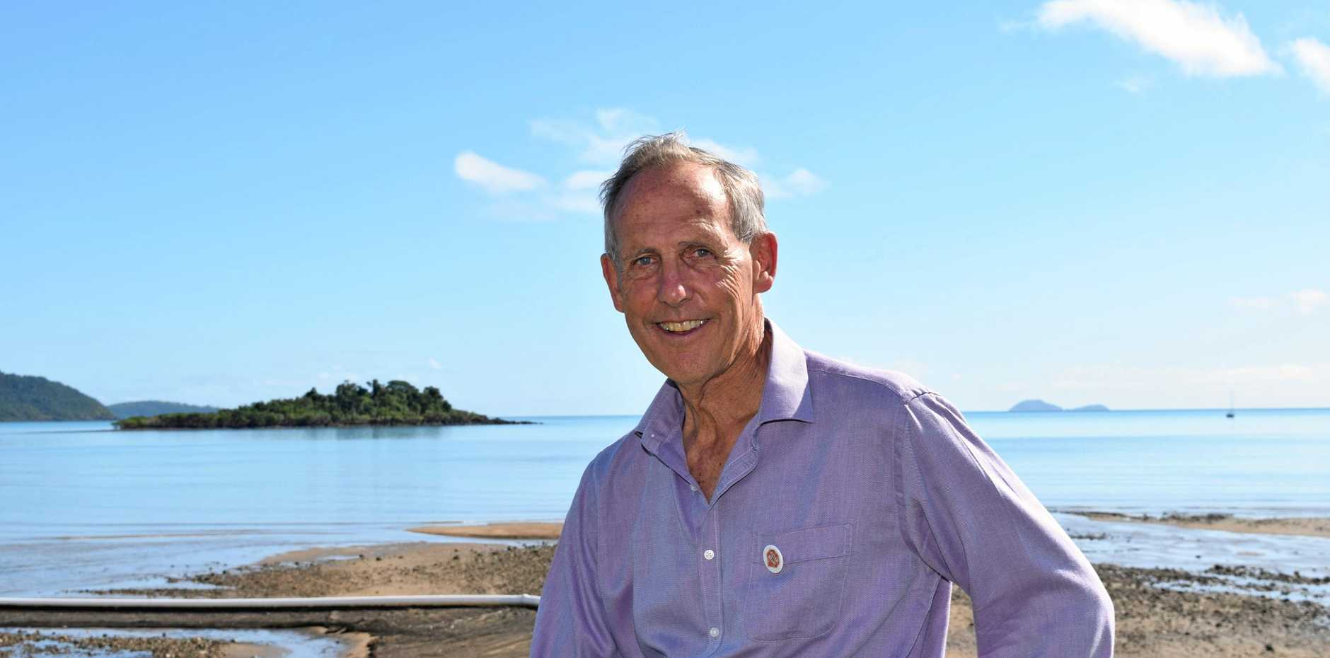 Former Greens leader, Bob Brown has spearheaded the Stop Adani Convoy, which arrived in Airlie Beach last week.