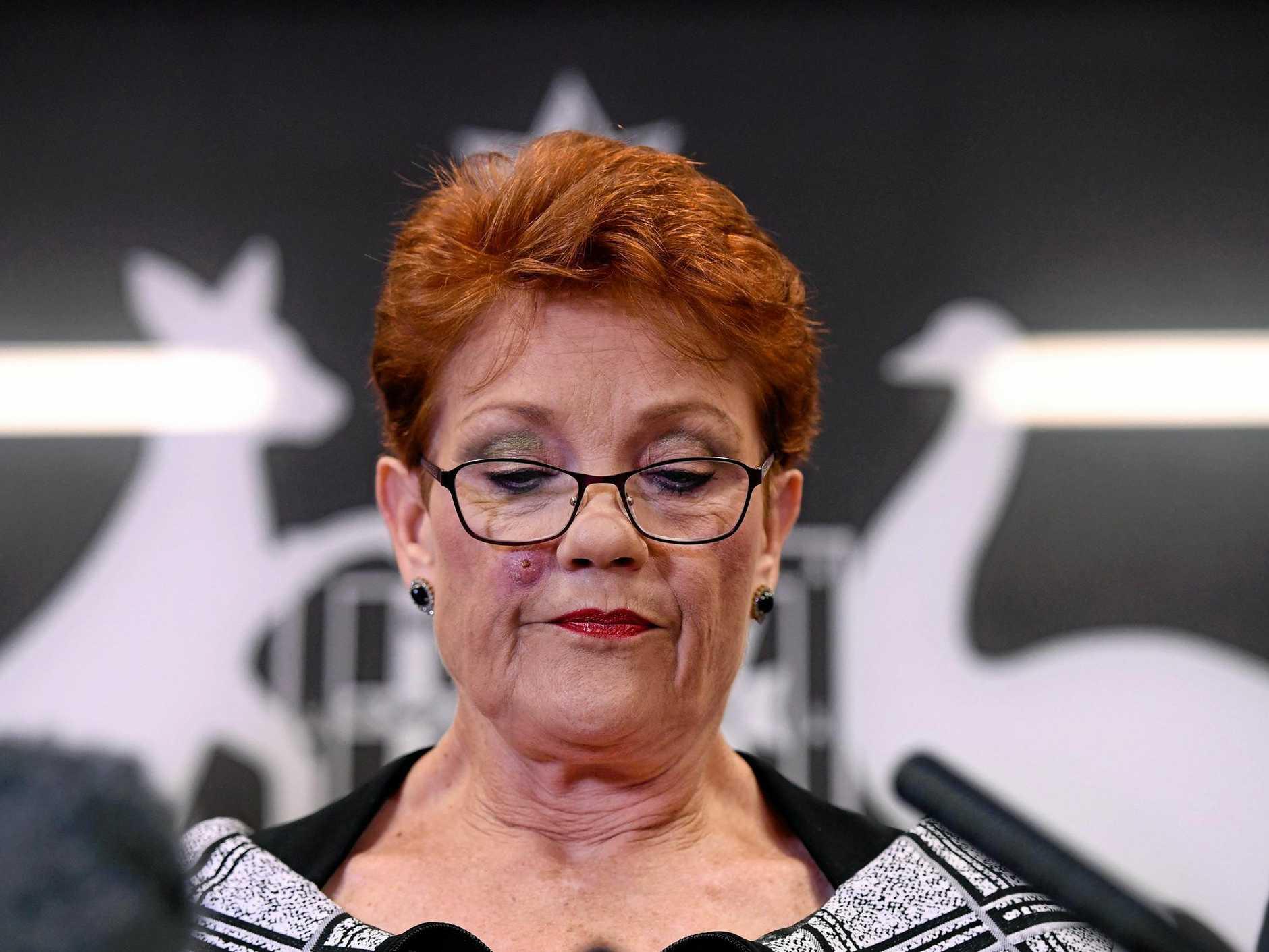 Queensland Senator and One Nation leader Pauline Hanson.