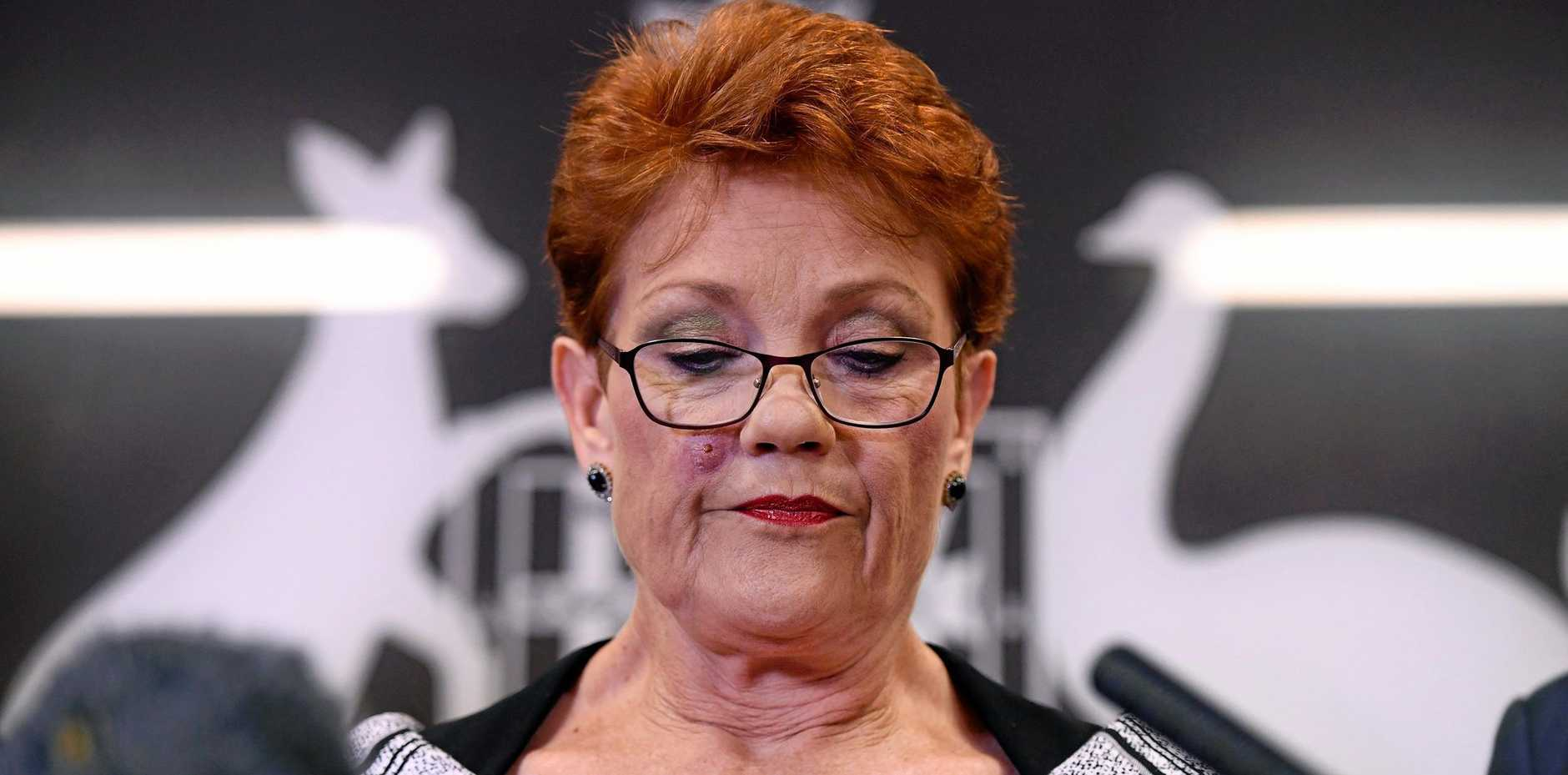 Queensland Senator and One Nation leader Pauline Hanson.
