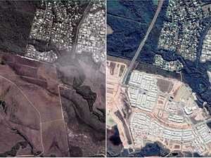 SATELLITE IMAGES: How the Coast has changed over time