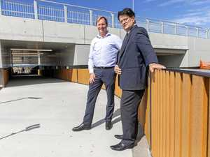 New Nicklin Way underpass improves safety for students
