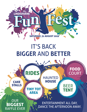 Lindisfarne FunFest: It's back, BIGGER and BETTER!