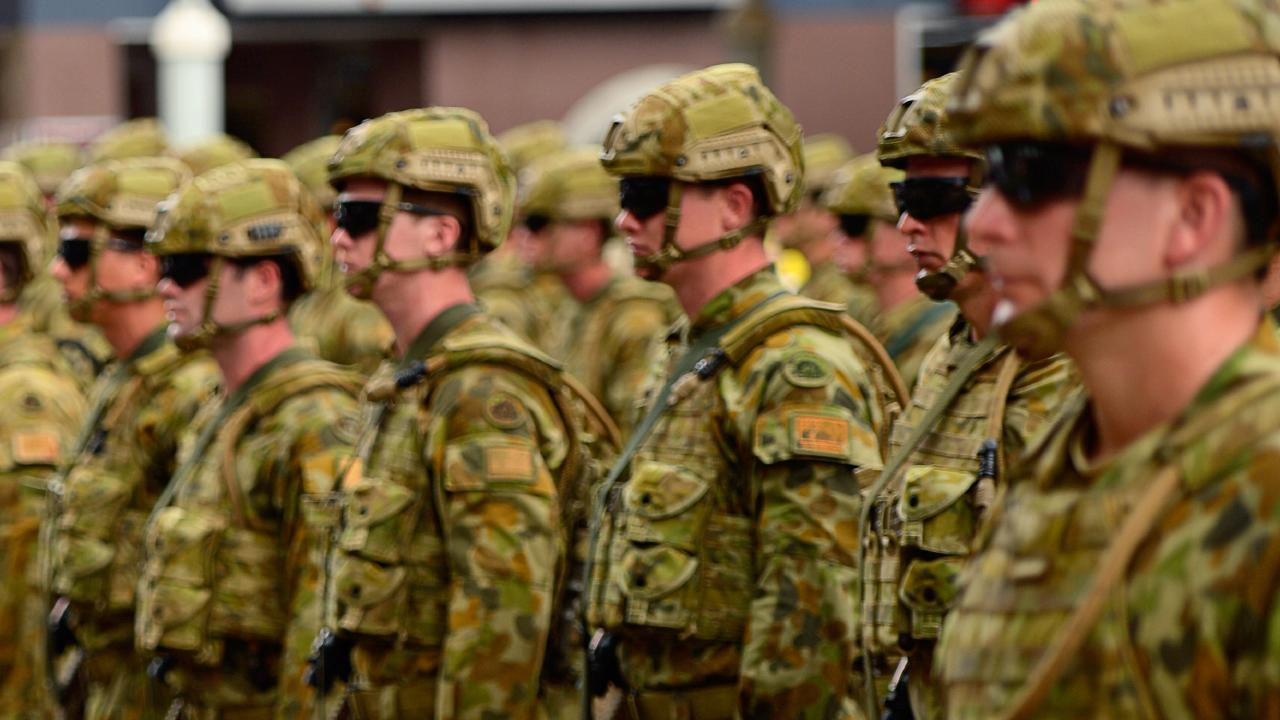 Aussie soldiers have been banned from using slang around US troops.